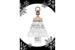 Leethal Fashion & Accessories Family & Friends Christmas Sale