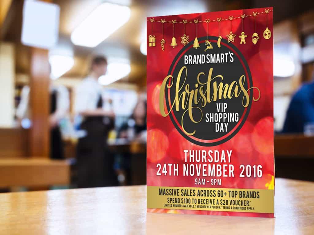 brand smart christmas flyer
