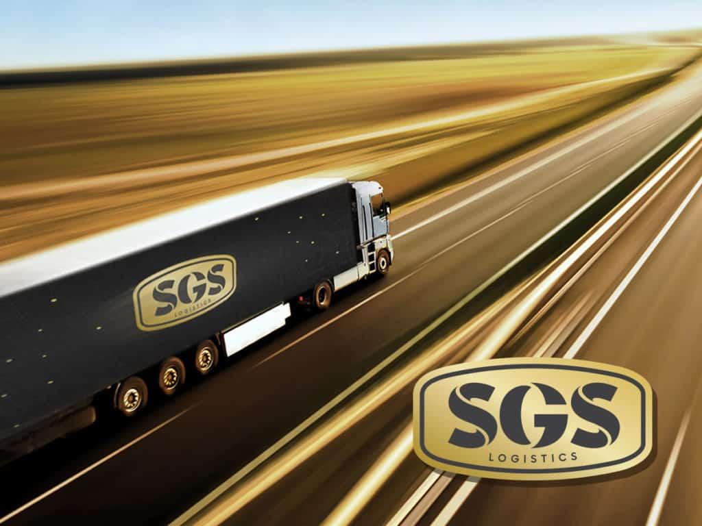 sgs logistics signage